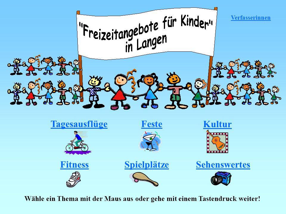 Dort gibt es in Langen Spielplätze: - Am Belzborn -Birkenwäldchen -Farnweg -Fasanenweg -Friedhof -Mütterzentrum -Nordendstraße -Paddelteich -Pestalozzistraße -Sofienstraße -Stresemannring -Turmgasse -Wernerplatz -Westendstraße -Wingertstraße -Wormserweg Spielplatz im Birkenwäldchen Spielplatz am Belzborn Spielplatz am Mütterzentrum Startseite Kindertexte Kinderbilder Mein Wunschspielplatz: Stadtplan Spielplätze