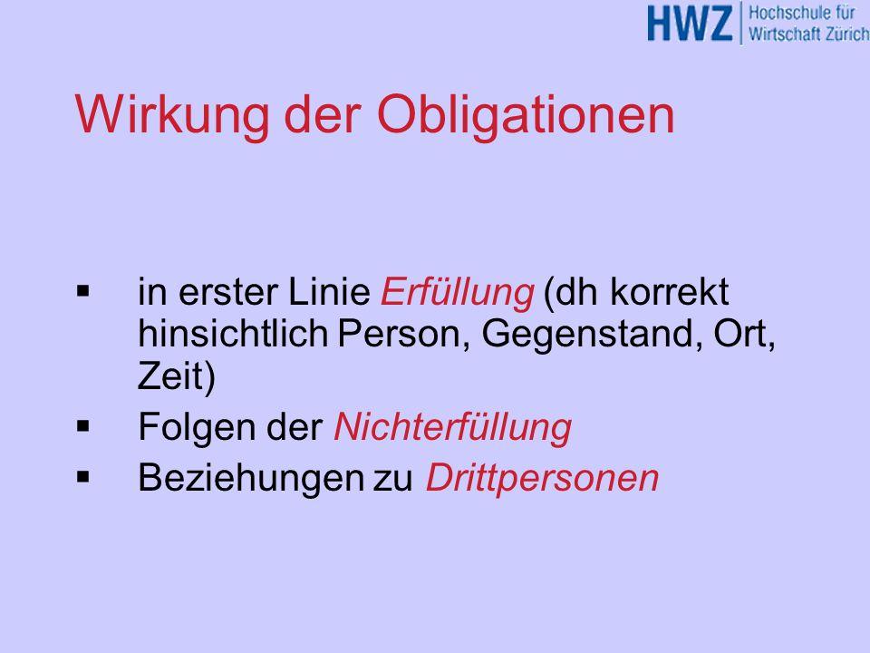 Einige Sonderthemen Widerrufsrecht bei «Haustürgeschäf- ten» (Art.