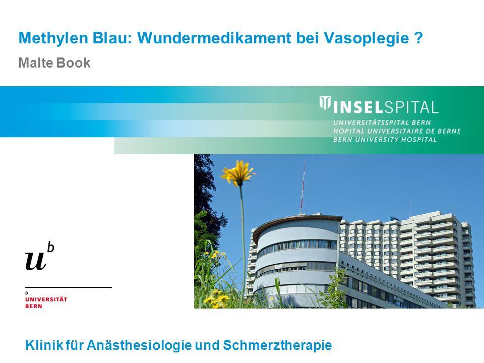 Malte Book - Methylen Blau: Wundermedikament bei Vasoplegie.