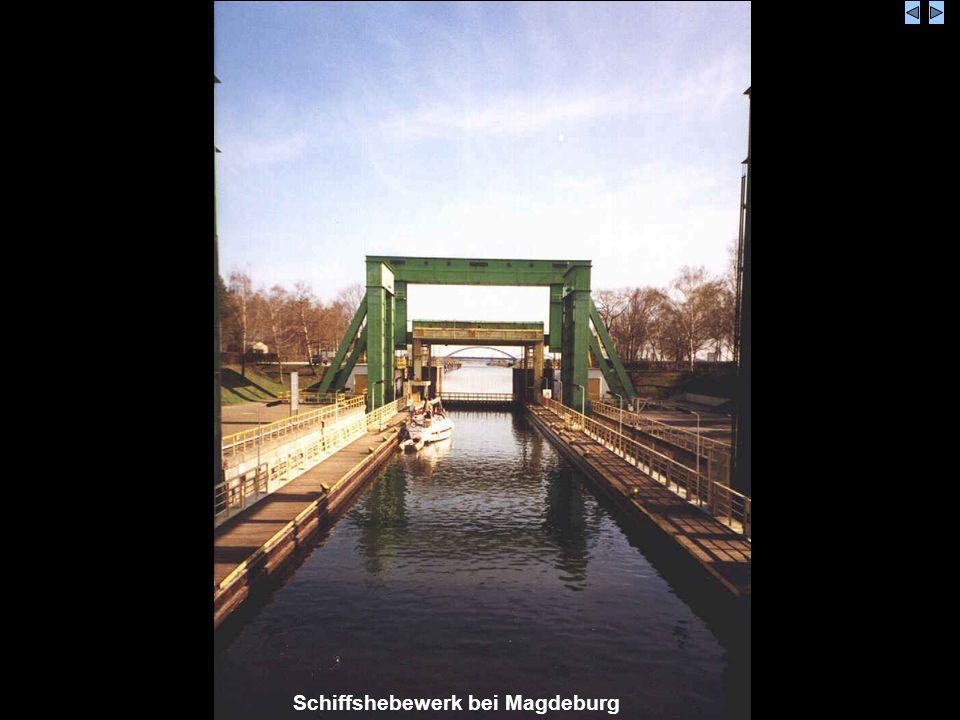Schiffshebewerk bei Magdeburg