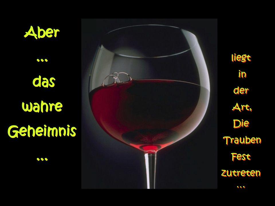 Ein guter Keller, damit der Wein in Frieden dort ausruhen kann... Ein guter Keller, damit der Wein in Frieden dort ausruhen kann...