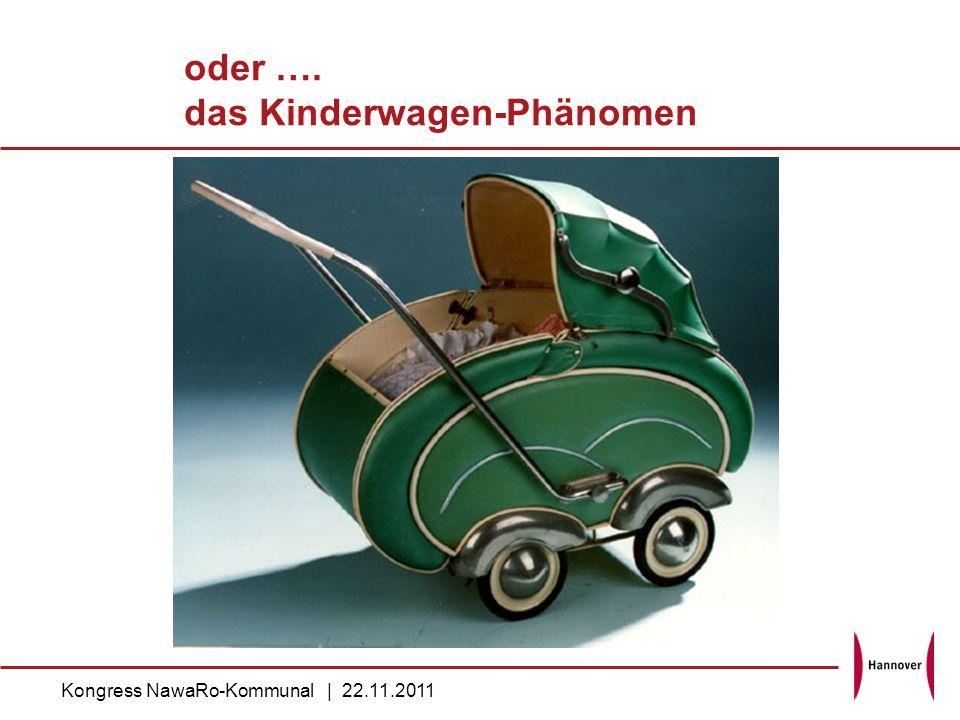 oder …. das Kinderwagen-Phänomen Kongress NawaRo-Kommunal | 22.11.2011