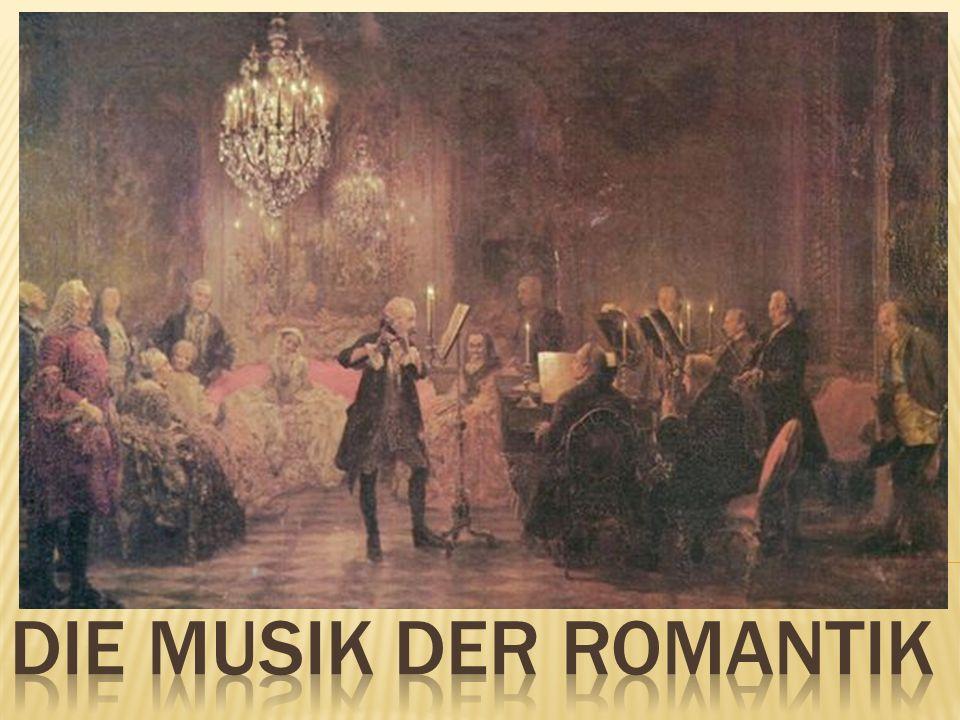 1.Musik in Barock und Klassik 2. Die Musik der Romantik 3.
