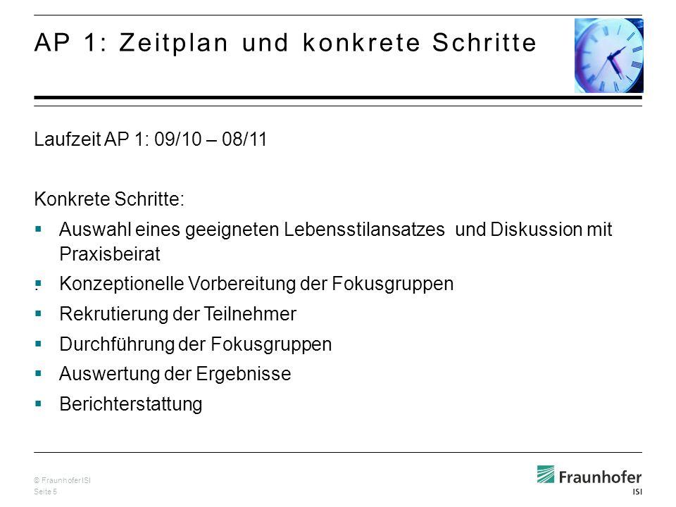 © Fraunhofer ISI Seite 5.