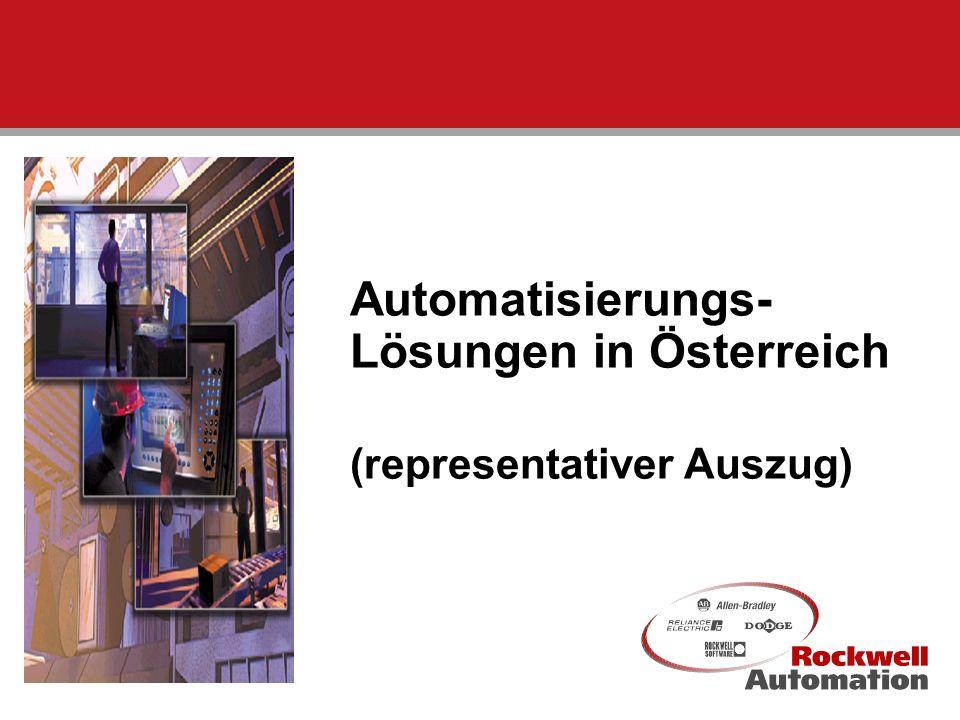 1 Automatisierungs- Lösungen in Österreich (representativer Auszug)