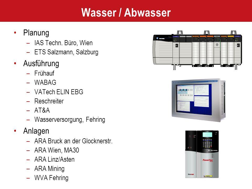 Wasser / Abwasser Planung –IAS Techn.