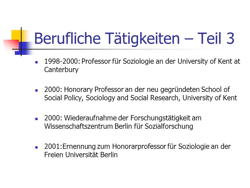 Berufliche Tätigkeiten – Teil 2 1996: Forschungsaufenthalt als Saywer Fellow am Institute for International Studies, University of Michigan (Ann Arbor