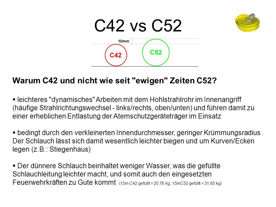 C42 vs C52 Warum C42 und nicht wie seit