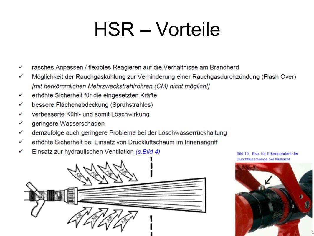 HSR – Vorteile