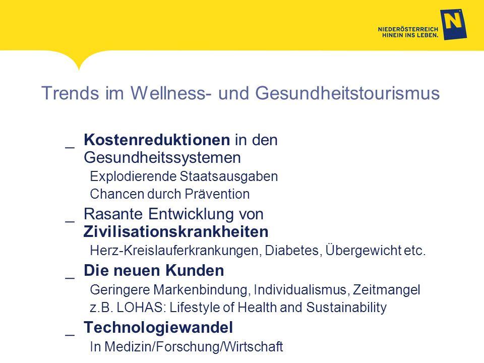 Trends im Wellness- und Gesundheitstourismus _Kostenreduktionen in den Gesundheitssystemen Explodierende Staatsausgaben Chancen durch Prävention _Rasa
