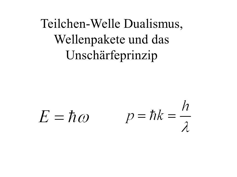 Energieeigenzustände Es kann mehrere Energieeigenwerte mit den dazu gehörigen Eigenfunktionen zu einem Hamiltonoperator geben.