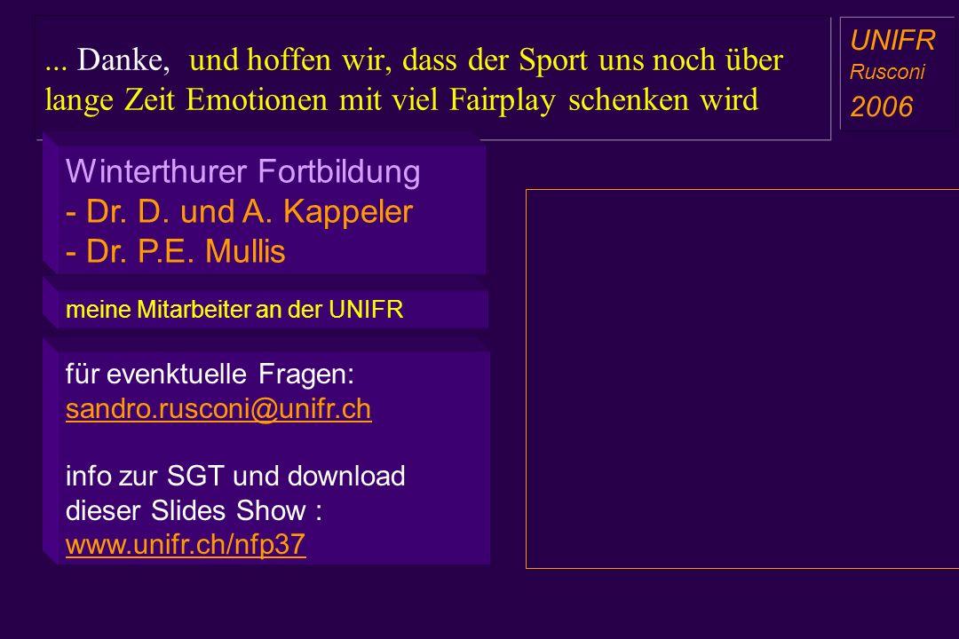für evenktuelle Fragen: sandro.rusconi@unifr.ch info zur SGT und download dieser Slides Show : www.unifr.ch/nfp37... Danke, und hoffen wir, dass der S