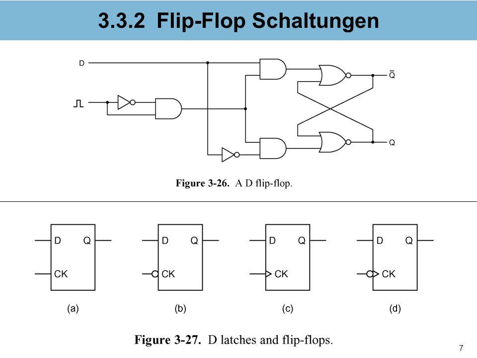 8 3.3.3 Register Fig. 3-28a. Dual D flip-flop.