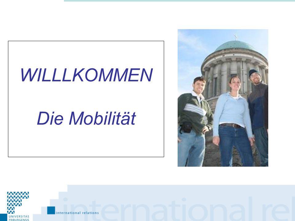 Kurze Präsentation: ESN /Erasmus Student Network Präsentation der Dienststelle für IB 1.Die Mobilität 2.Die Mobilitätsprogramme 3.Fragen u.