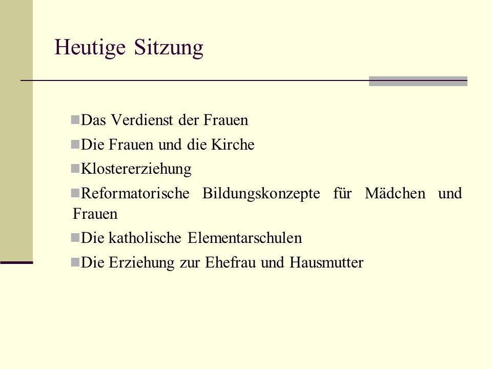 Das Verdienst der Frauen (1600) Der erste Tag: 1.