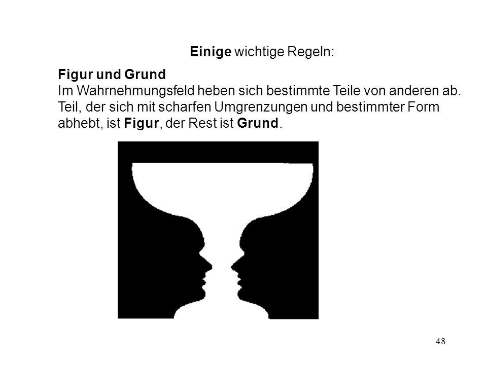 49 Binnengliederung Übereinandergelegte Figuren werden in der Regel in möglichst einfache Figuren zerlegt
