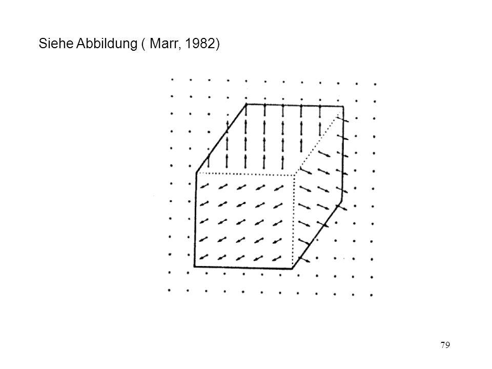 80 2 1/2 D-Skizze ermöglicht nicht Vergleich mit Gedächtnisinhalt: 1Nur sichtbare Oberflächen repräsentiert 2Alles nur aus einem speziellen Blickwinkel d.h.