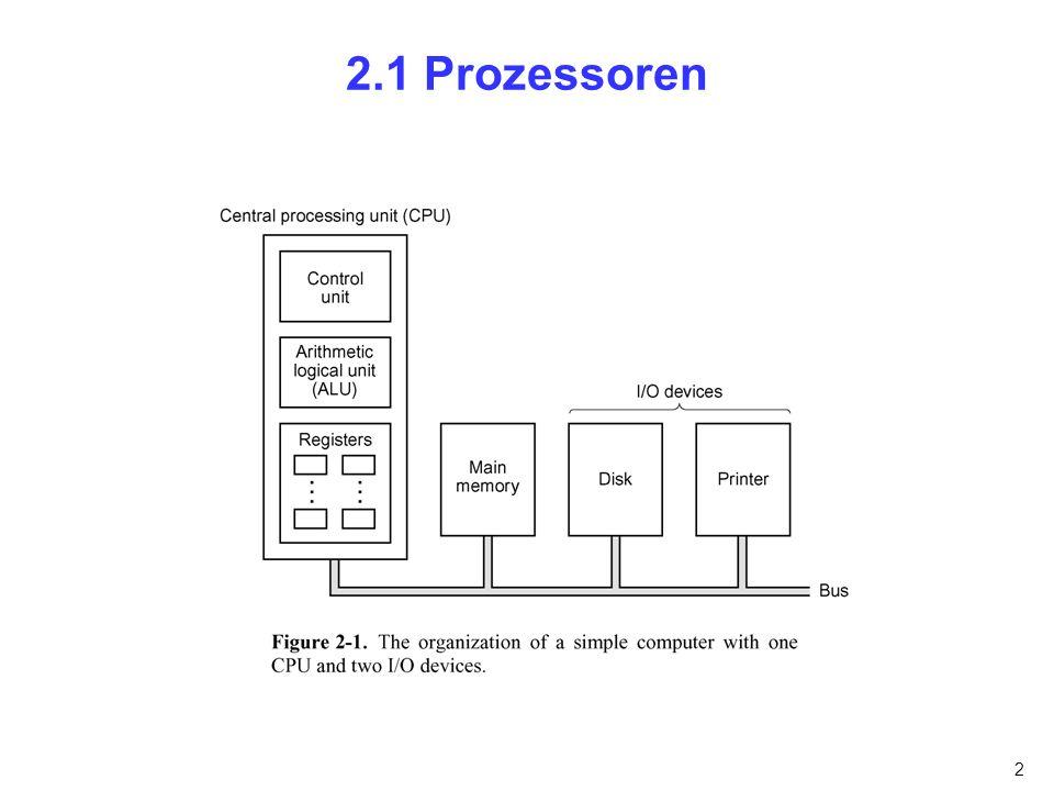 3 2.1.1 Aufbau der CPU