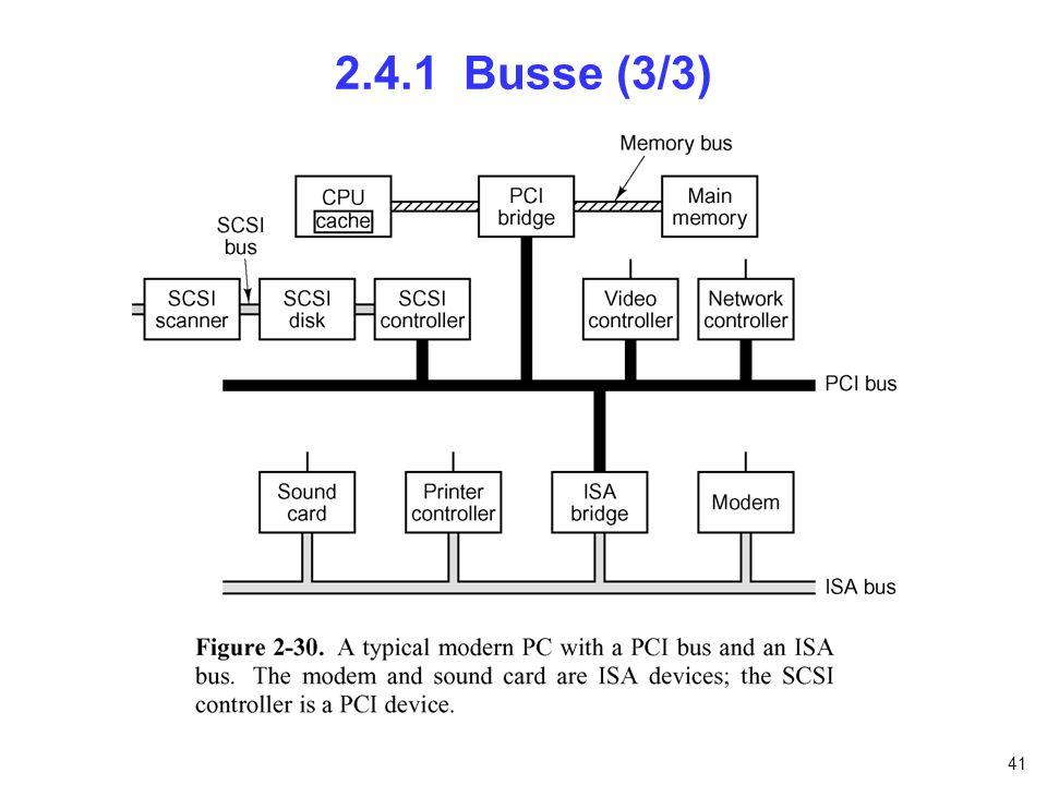 41 2.4.1 Busse (3/3)