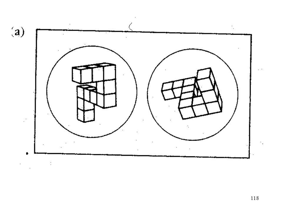 129 Theorie der visuellen Vorstellungen von Kosslyn (1980, 1994, …) komplexere Bilder gespeichert als Bildfiles und Propositionale files