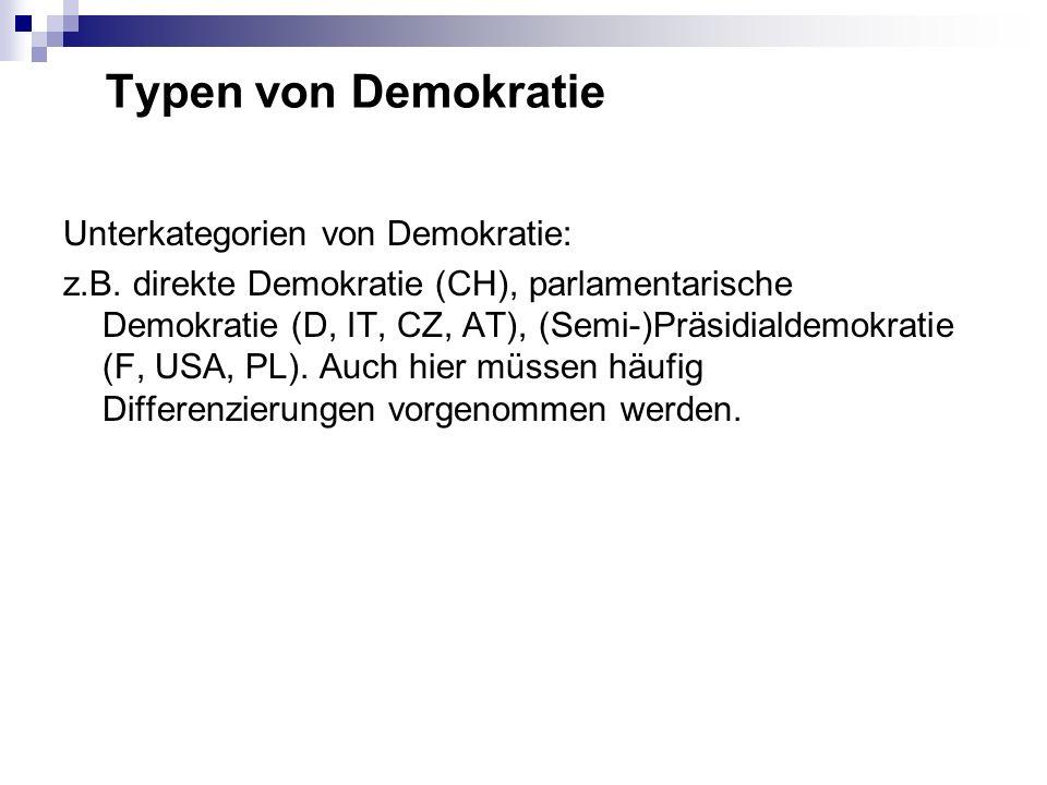 Samuel Huntington: Drei Demokratiewellen: 1. 1828-1926 2. 1943-1962 1974-1991 2011?