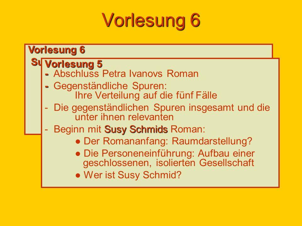 Susy Schmid * 1964 in Gebenstorf AG, zwischen Baden und Brugg, bis zum plötzlichen Tod ihres Mannes (Heirat 1999), Alexander Heimann (Mai 2003), zeitweise in Bern, dann in Baden und heute in Wettingen wohnhaft; wie A.