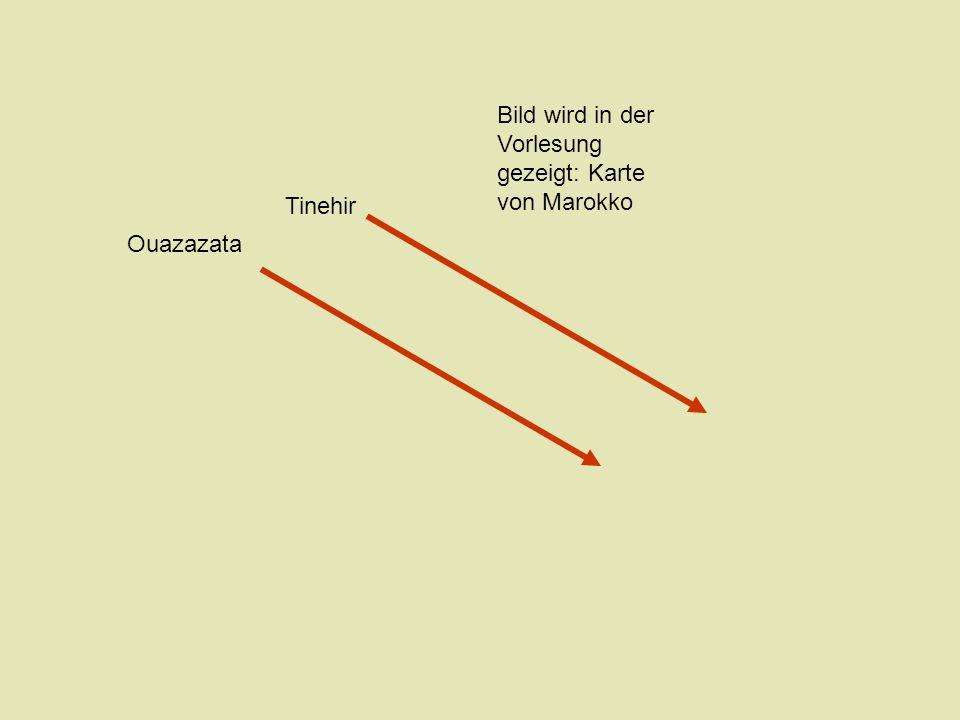 Ouaza(r)zate Tinerhir Der Atlas Er-Rachidia S.