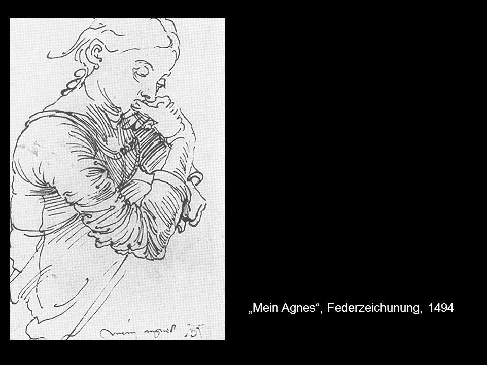 Mein Agnes, Federzeichunung, 1494