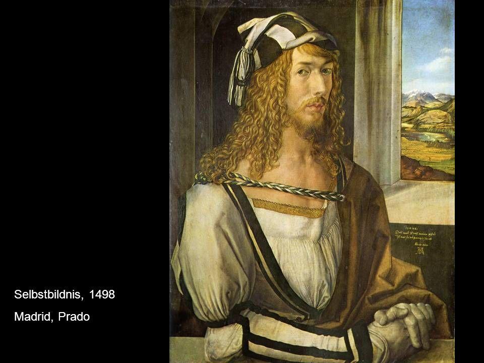 Selbstbildnis, 1498 Madrid, Prado
