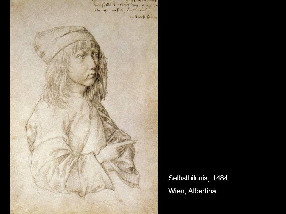 Selbstbildnis, 1484 Wien, Albertina