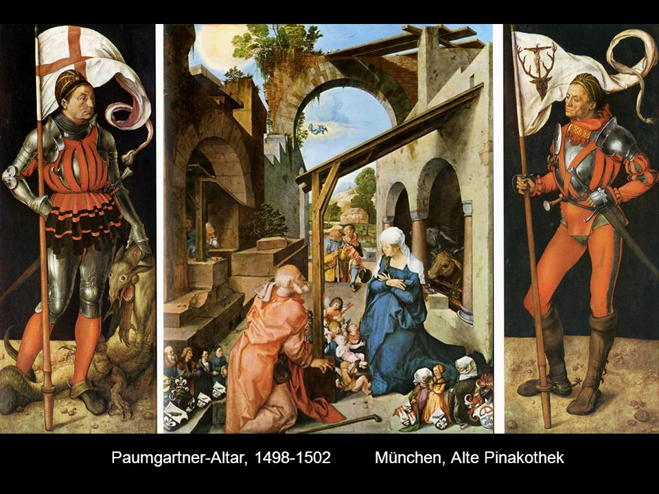 Paumgartner-Altar, 1498-1502 München, Alte Pinakothek