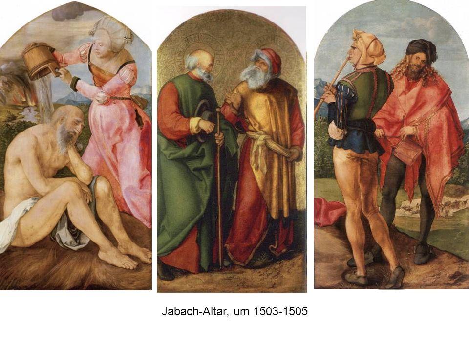 Jabach-Altar, um 1503-1505
