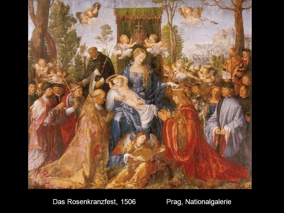 Das Rosenkranzfest, 1506 Prag, Nationalgalerie