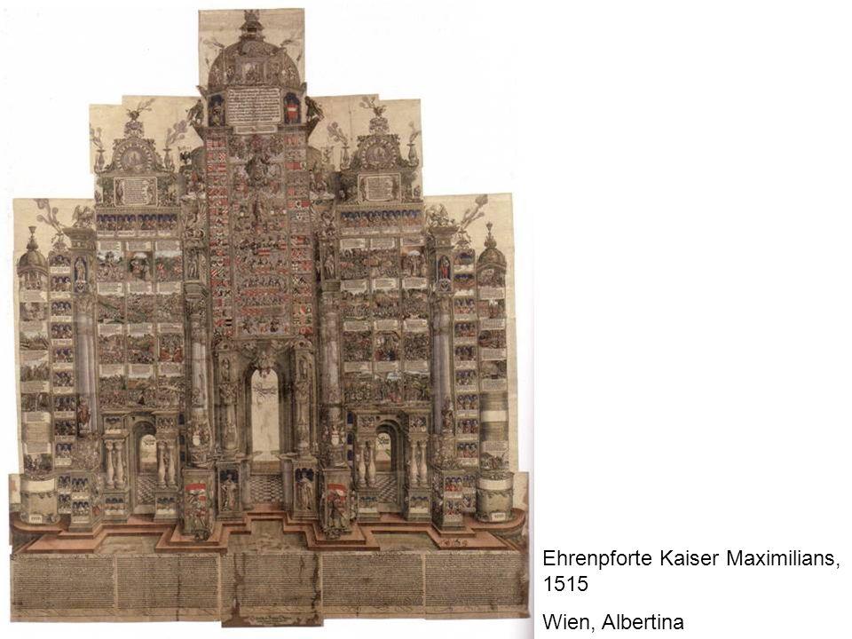 Ehrenpforte Kaiser Maximilians, 1515 Wien, Albertina