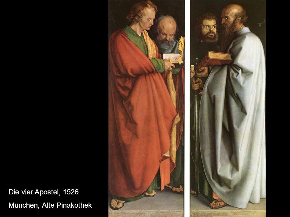 Die vier Apostel, 1526 München, Alte Pinakothek