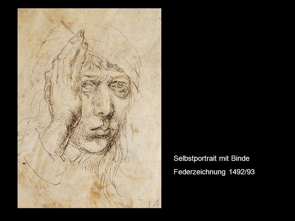 Christus als Schmerzensmann, ca. 1493/94 Karlsruhe, Staatl. Kunsthalle