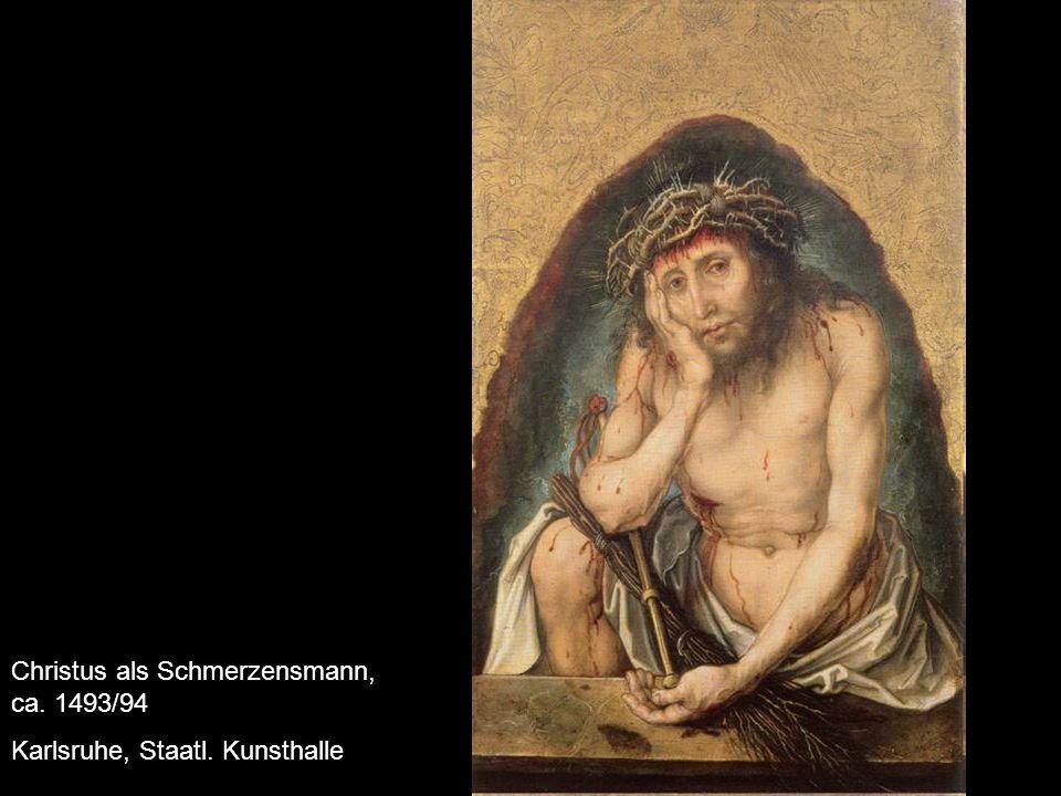 Selbstbildnis, 1493 Louvre
