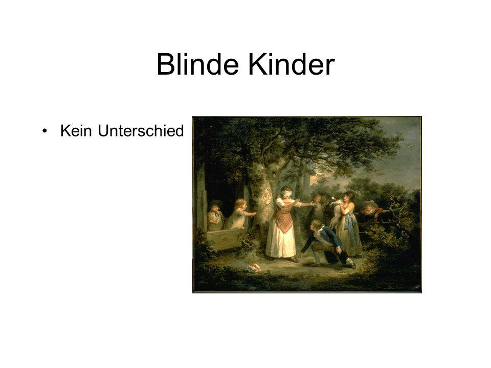 Blinde Kinder Kein Unterschied