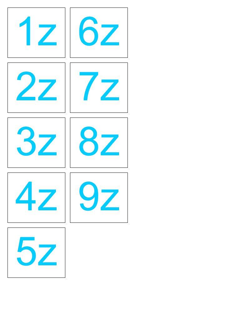 1z 2z 3z 6z 7z 8z 4z 5z 9z