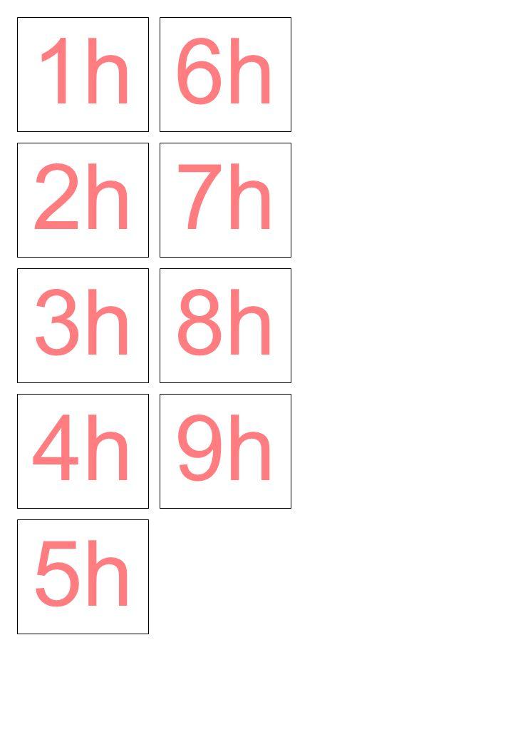1h 2h 3h 6h 7h 8h 4h 5h 9h
