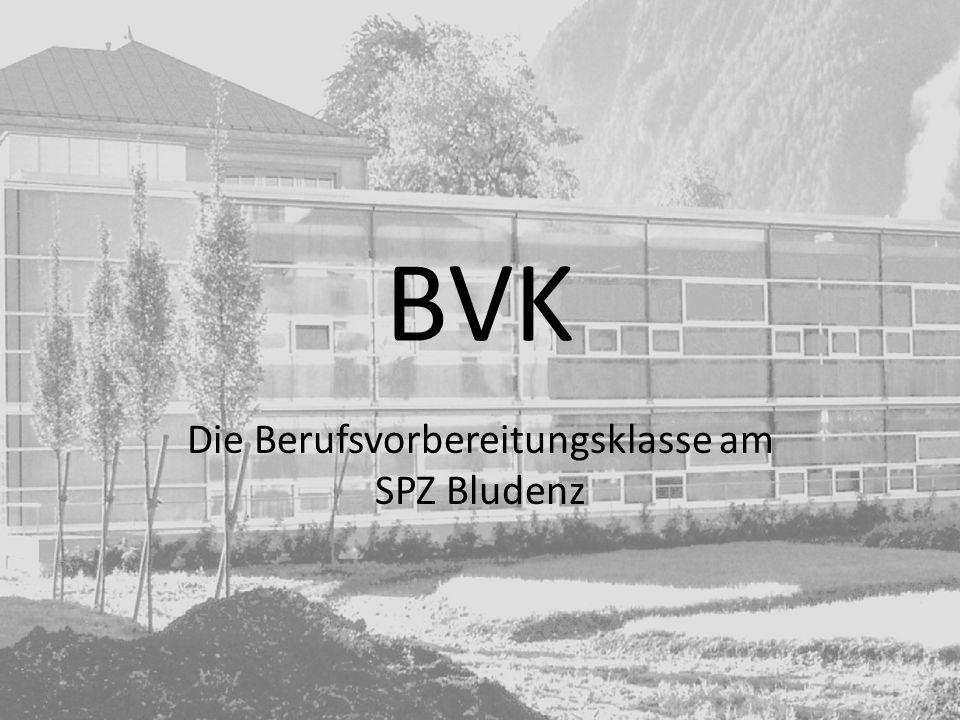 BVK Die Berufsvorbereitungsklasse am SPZ Bludenz