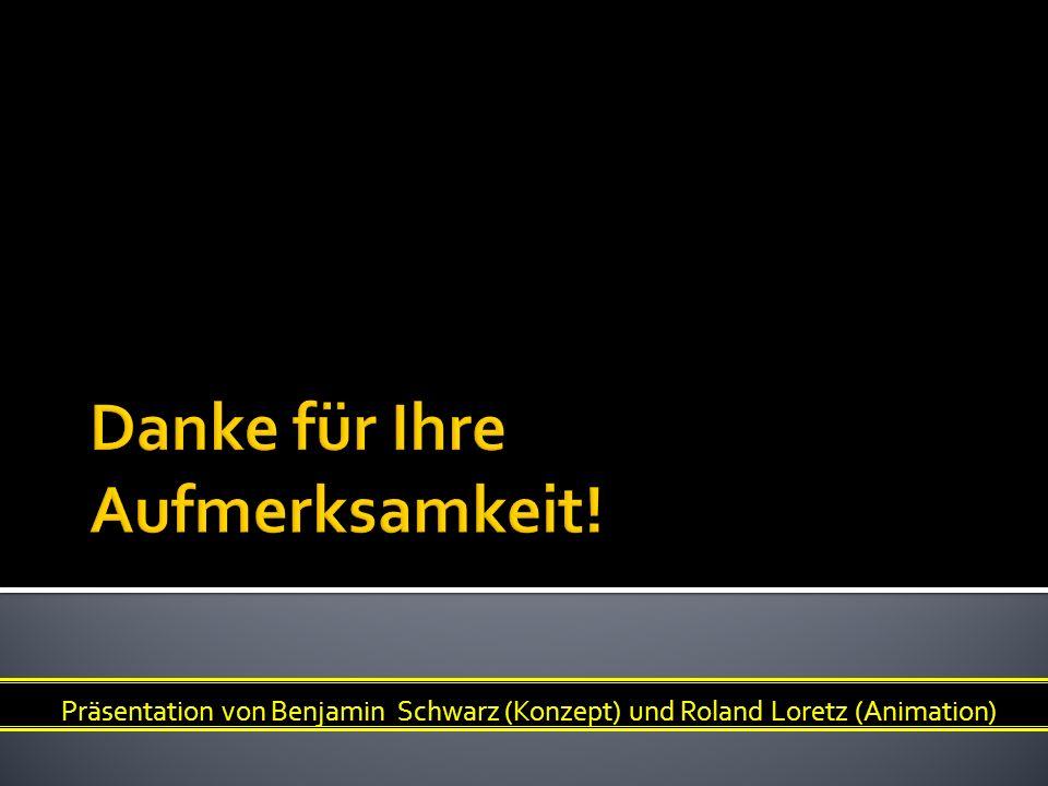 Präsentation von Benjamin Schwarz (Konzept) und Roland Loretz (Animation)