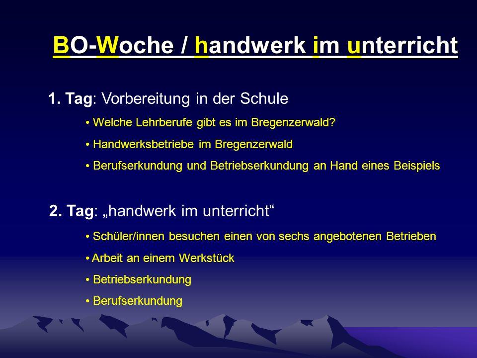 Berufsorientierungswoche HS Alberschwende Betrieb Frisur + Kosmetik Innfeld Egg Werkstück / Tätigkeit Schmink- und Frisurentipps Frisurenexperimente
