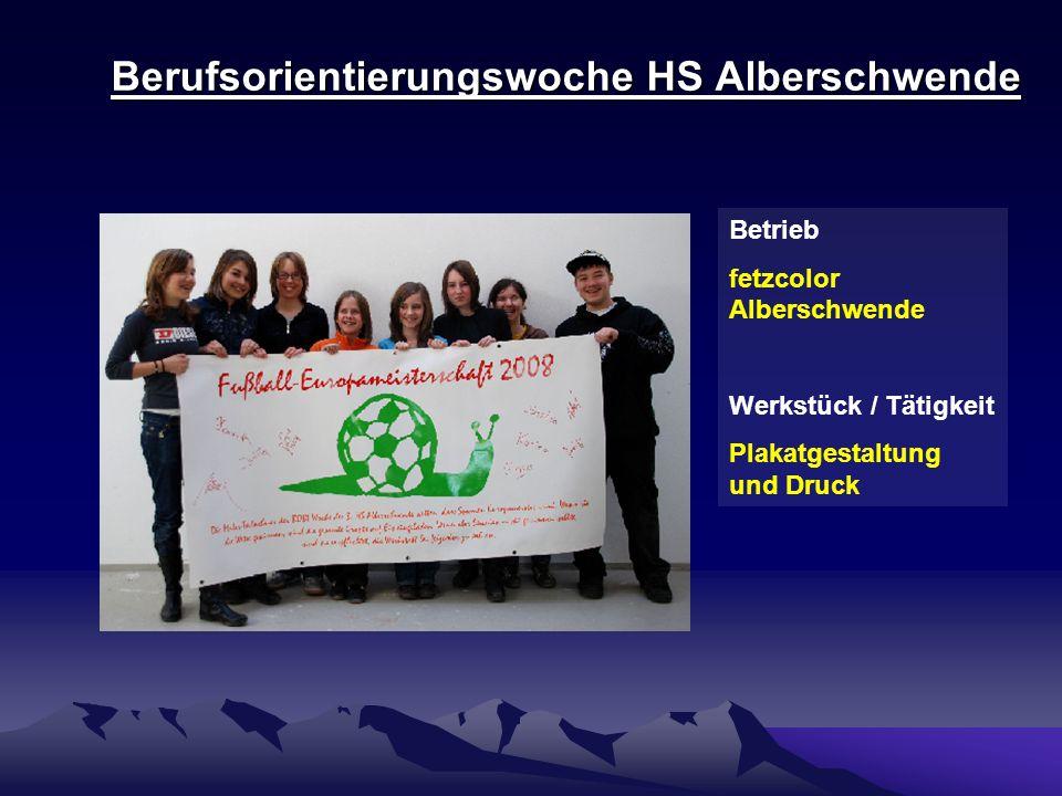 Berufsorientierungswoche HS Alberschwende Betrieb Mohr Polster Andelsbuch Werkstück / Tätigkeit Lederhandtaschen