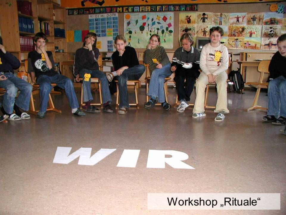 Workshop Rituale