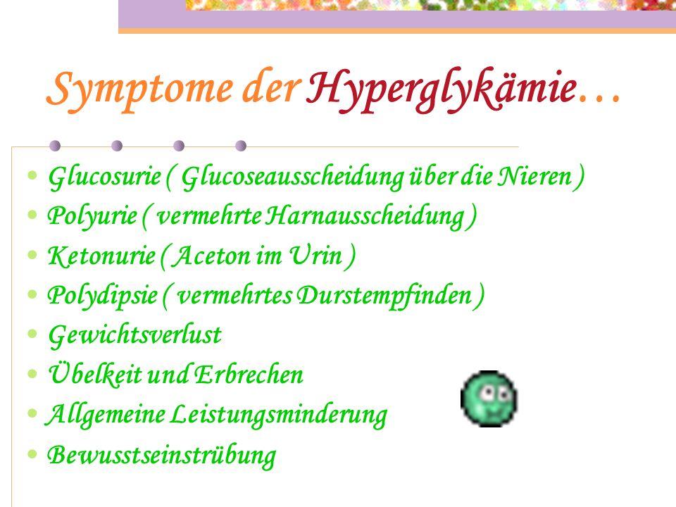 Schwere Hypoglykämie… Ersthelfer kann sofern vorhanden, bei Bewusstlosigkeit oder Eintrübung eine Glucagon Fertigspritze intramuskulär injizieren soll