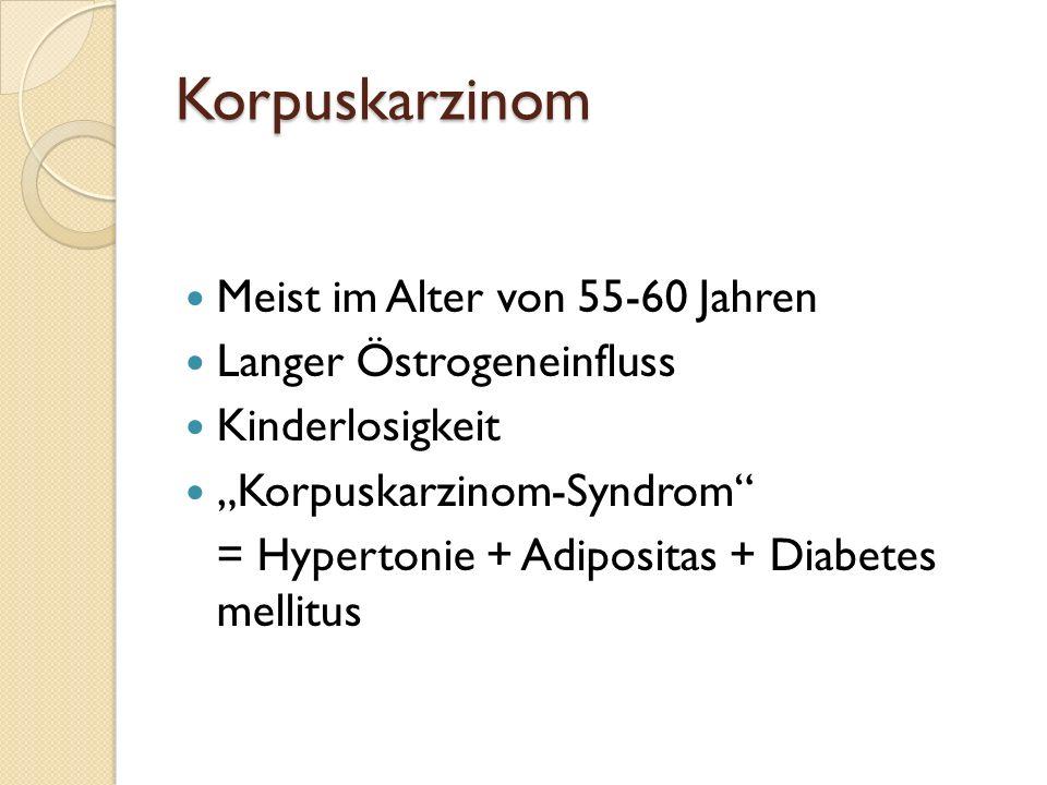 Korpuskarzinom (Uterusschleimhautkrebs)