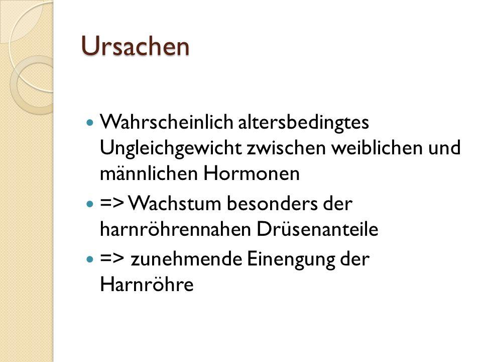 Benigne Prostatahyperplasie bPH Altherrenkrankheit