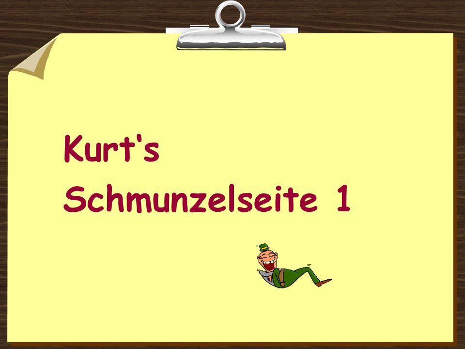 Kurts Schmunzelseite 1