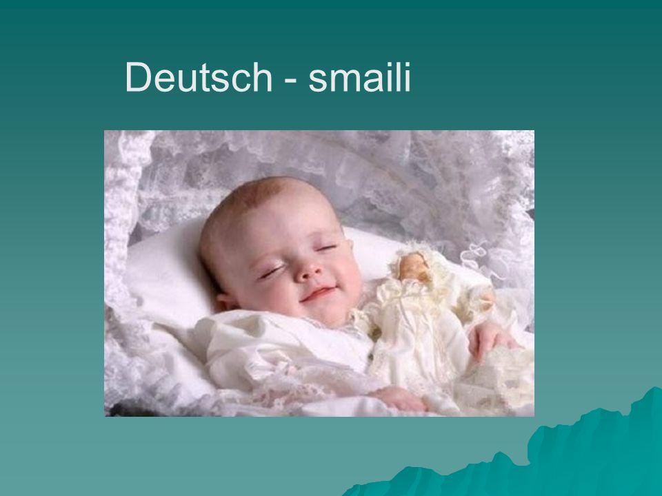 Deutsch - smaili
